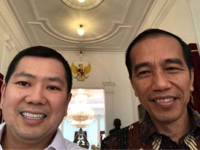 Ke Istana, Jokowi dan Hary Tanoe Bahas Pengembangan 10 Destinasi Bali Baru