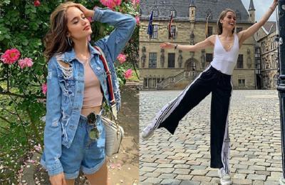 4 Gaya OOTD Cinta Laura saat Pulang Kampung ke Jerman, Stylish dan Seksi!