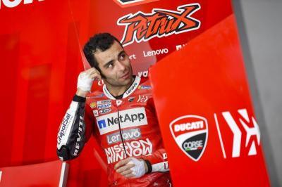 Petrucci Pantas Jadi Pembalap Ducati Musim Depan