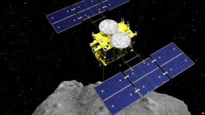Wahana Antariksa Jepang Berhasil Mendarat di Asteroid
