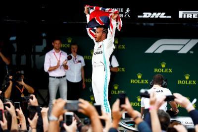 Hamilton Bangga Cetak Sejarah di F1 GP Inggris 2019