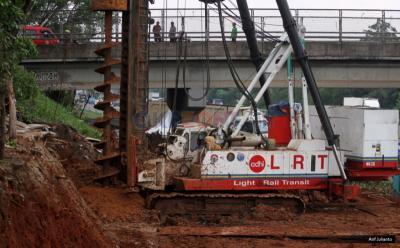 2021, Naik LRT Bisa dari Terminal Baranangsiang