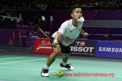Jadwal Wakil Tanah Air di Hari Kedua Indonesia Open 2019