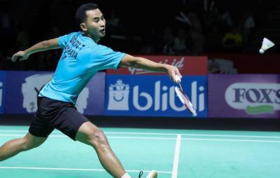 Gagal Atasi Chen Long, Tommy Tersingkir dari Indonesia Open 2019