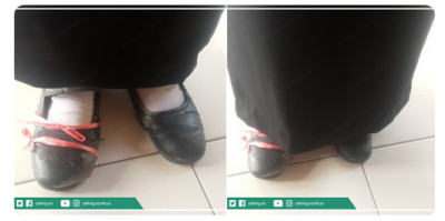 Viral Foto Peserta Seleksi STAN Pakai Sepatu Hitam Diikat Pakai Tali Rafia