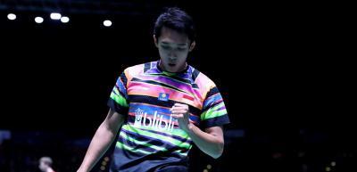 Beda Nasib Jonatan dengan Ricky Angga di 16 Besar Indonesia Open 2019