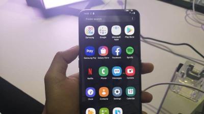 Ini Kesan Pertama saat Genggam Samsung Galaxy A80