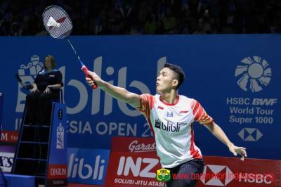 Jadwal Wakil Tanah Air di Babak Perempatfinal Indonesia Open 2019
