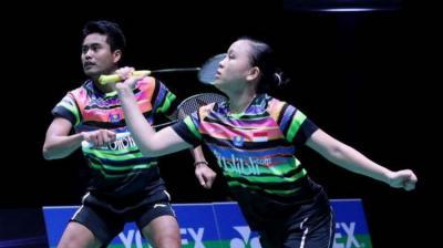 Langkah Tontowi Winny Terhenti di Perempatfinal Indonesia Open 2019