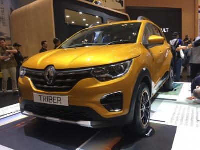 Mengaspal di GIIAS 2019, Kenapa Harga MPV Renault Triber Dirahasiakan?
