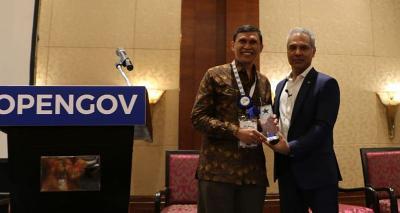 OpenGov Asia Berikan Penghargaan Inisiatif Agriculture 4.0 untuk Kementan