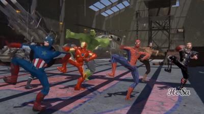 Seru, Ketika Para Avengers Membawakan Tarian Jawa
