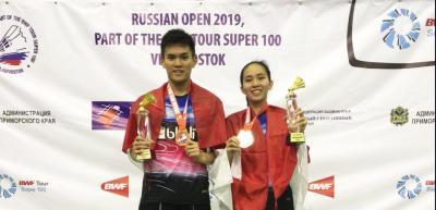 Raih Gelar di Rusia Open 2019, Adnan Mychelle Tak Ingin Cepat Puas