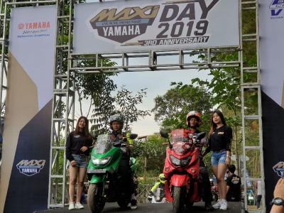 Peserta MAXI Yamaha Day Asyik Berkemah di Puncak Tinambung