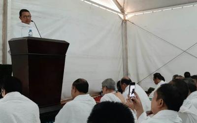 Wukuf di Arafah, Menag Lukman Hakim Jelaskan Moderasi Berislam