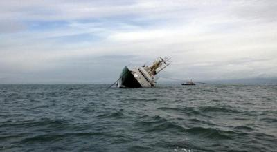 TNI AL 'Kuasai' KM Mina Sejati yang Dibajak di Perairan Maluku