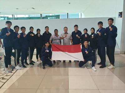 Indonesia Sabet 9 Medali di 2nd Asian Open Taekwondo Championship