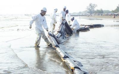 Berapa Lama Pertamina Selesaikan Tumpahan Minyak di Karawang?