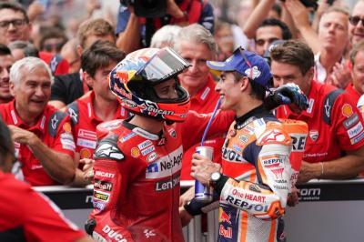 Ducati Belum Tentu Juara Dunia jika Tidak Ada Marquez