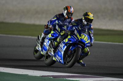 Suzuki Puas dengan Pencapaian Rins dan Mir di MotoGP 2019