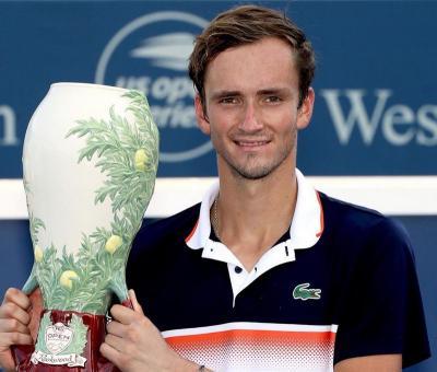 Girangnya Medvedev Segel Gelar Juara Cincinnati Masters 2019