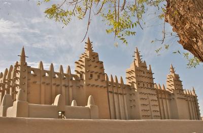 Masjid Unik Terbuat dari Lumpur Ada di Djenne, Afrika
