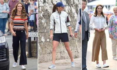 Datang ke Acara Bergengsi, Sneakers Rp500 Ribuan Kate Middleton Jadi Sorotan
