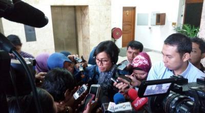 Sambangi DPR, Sri Mulyani Bahas Anggaran BPJS Kesehatan yang Meningkat