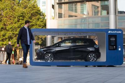 Layaknya Beli Minuman Kaleng, di London Jual Mobil Gunakan Vending Machine