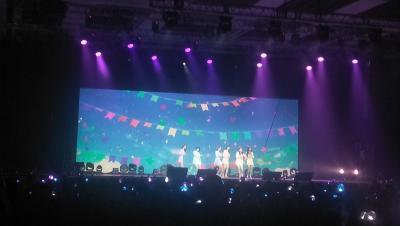 Bikin Gemas, GFRIEND Tampil Imut saat Konser di Jakarta