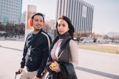 Main Film Anak Garuda, Clairine Clay Minta Saran Joshua Suherman