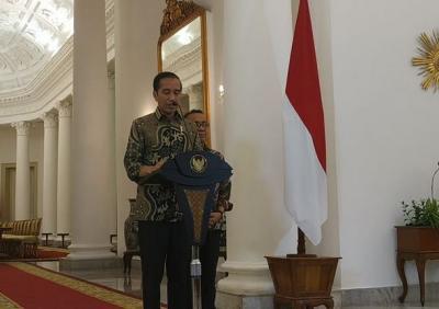 Jokowi Sapa Talenta Muda Bhinneka Tunggal Ika di Istana