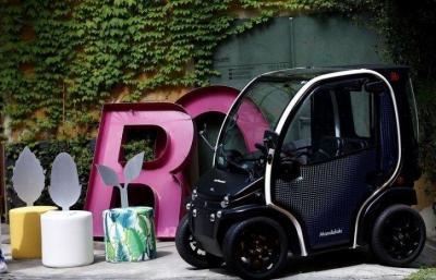 Mobil Ini Diproduksi Menggunakan Sampah Daur Ulang