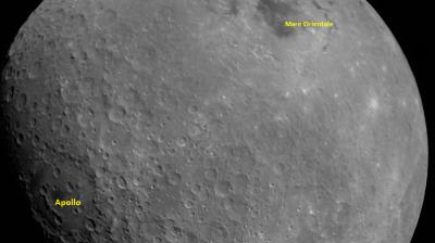 Misi Luar Angkasa Chandrayaan-2 Tangkap Foto Bulan Pertama Kali