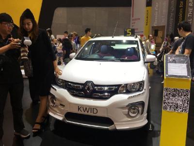 Desain Lampu Belakang Baru, Tampilan Renault Kwid Facelift Tertangkap Kamera