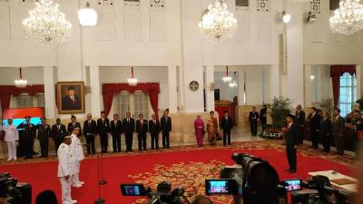 Jokowi Lantik Wagub Sulawesi Tengah Pagi Ini