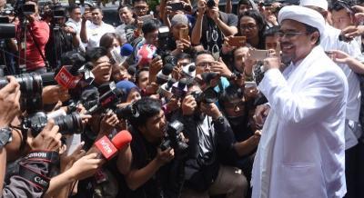 FPI Temui Beberapa Pihak demi Pulangkan Habib Rizieq