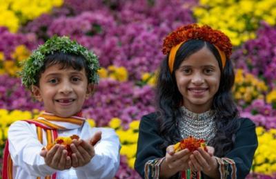 Indahnya Festival Bunga di Arab Saudi, Begini Penampakannya!