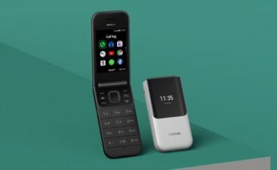 Nokia Lahirkan Kembali Ponsel Flip dengan Nokia 2720