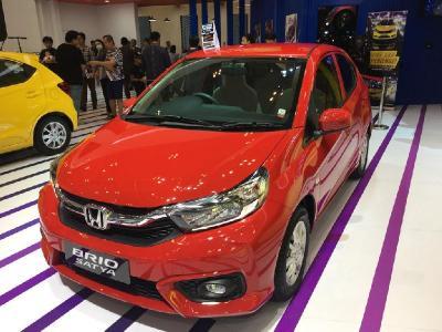 Honda Brio Kokoh Sumbang Penjualan Terbesar di Agustus 2019