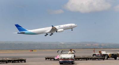 Garuda Indonesia Batalkan 12 Penerbangan Akibat Kabut Asap