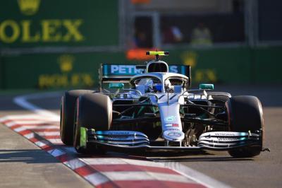 Bottas Optimis Mercedes Lebih Baik dari Ferrari di F1 GP Singapura 2019