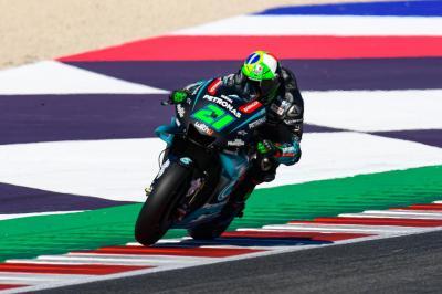 Morbidelli Sangat Puas Start dari Posisi 4 di MotoGP San Marino 2019