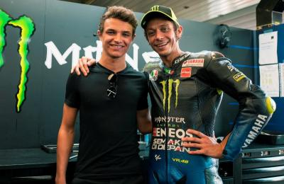 Rossi Merasa Terhormat Digemari Pembalap Muda F1