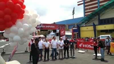 Upacara Pembukaan Sukses, Honda Dream Cup 2019 di Malang Resmi Dibuka