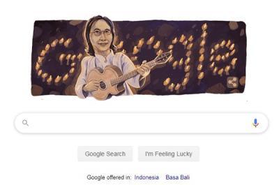 Google Doodle Kenang Hari Kelahiran Chrisye