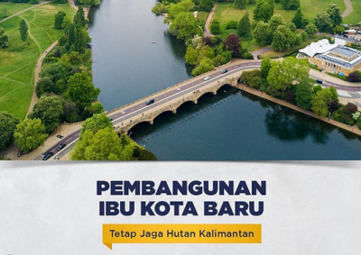 Konsep Ibu Kota Baru Dijamin Jaga Kelestarian Hutan Kalimantan