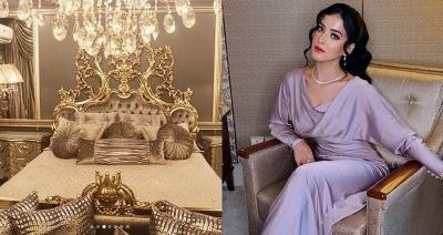Tasya Farasya Unggah Kamar Mewahnya, Netizen: Inikah Kamar Princess Jasmine?