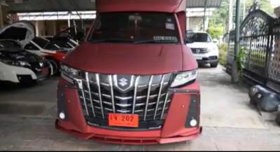 Modifikasi Suzuki Carry Pikap Bergaya Alphard