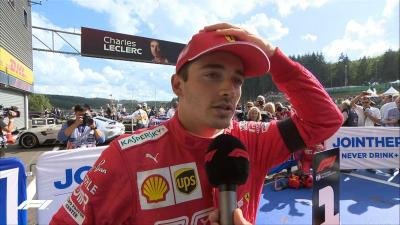 Leclerc Tak Merasa Nomor Satu di Ferrari
